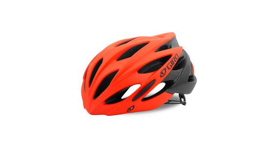 Giro Savant Helmet mat vermillion/flame fade